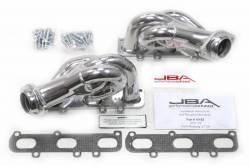 Exhaust - Headers - JBA Headers - 11 - 14 Mustang V6 JBA SS Silver Shorty Exhaust Header