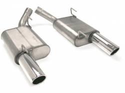 Kits - Dual - JBA Headers - 2005 - 2010 Mustang Axle Back 4.6/5.4 V8 Stainless Steel Mufflers