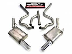 Kits - Dual - JBA Headers - 2005 - 2010 Mustang Cat Back 4.0 V6 Y-Pipe Stainless steel exhaust