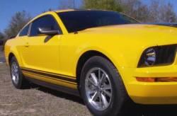Stripe Kits - Rocker - Graphic Express Graphics - 2005 - 09 Mustang Rocker GT Sripe Kit