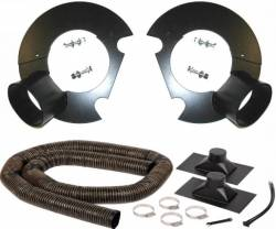 Brakes - Cooling - Kenny Brown Performance - 05 - 14 Mustang Kenny Brown Front Brake Duct Kit