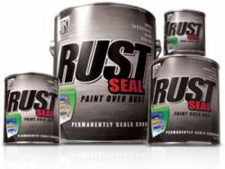 KBS Coatings - KBS Rust Seal Satin Black, 1 Quart