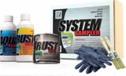 Paint & Sealants - Paints - KBS Coatings - KBS System Sampler, Oxide Red