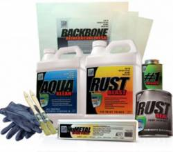 Paint & Sealants - Paints - KBS Coatings - KBS Trunk & Floorpan Repair Kit, Satin Black