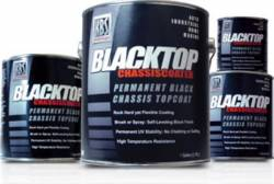 Paint & Sealants - Paints - KBS Coatings - KBS Black Top Chassis Paint, Satin Black, 5 Gal.