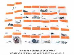 Interior - Fastners & Hardware - Scott Drake - 1965 Mustang  Interior Fastener Kit (Coupe, Standard Int)