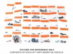 Interior - Fastners & Hardware - Scott Drake - 71 - 73 Mustang Interior Fastener Kit, Fastback