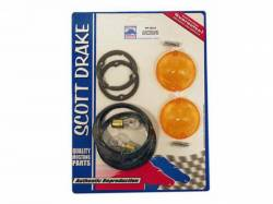 Electrical & Lighting - Turn Signals - Scott Drake - 1964 - 1966 Mustang  Parking Lamp Installation Kit