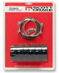 Fuel System - Tanks - Scott Drake - 68 - 70 Mustang Fuel Tank Filler Kit