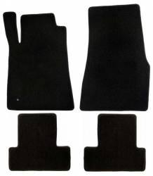 Carpet & Related - Floor Mat Sets - Lloyd Mats - 13 - 14 Mustang BLACK Floor Mats, No Emblem