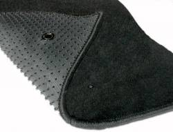 Carpet & Related - Floor Mat Sets - Lloyd Mats - 94 - 99 Mustang Floor Mats, Silver Pony Emblem