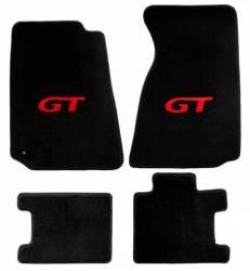 Carpet & Related - Floor Mat Sets - Lloyd Mats - 94 - 99 Mustang Floor Mats, Red GT Emblem