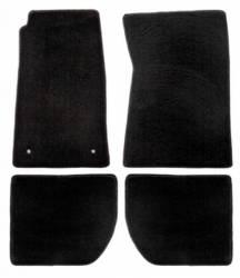 Carpet & Related - Floor Mat Sets - Lloyd Mats - 94 - 98 Mustang Floor Mats, No Emblem