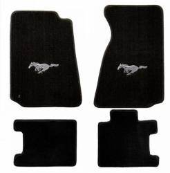 Carpet & Related - Floor Mat Sets - Lloyd Mats - 94 - 98 Mustang Floor Mats, Silver Pony