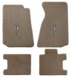 Carpet & Related - Floor Mat Sets - Lloyd Mats - 94 - 98 Mustang Floor Mats, Cobra Emblem