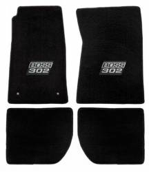Carpet & Related - Floor Mat Sets - Lloyd Mats - 65 - 73 Mustang Convertible Floor Mats, Boss 302