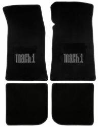 Carpet & Related - Floor Mat Sets - Lloyd Mats - 65 - 73 Mustang Convertible Floor Mats, Mach 1