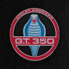 65 - 68 Mustang Deck Mat, Shelby American GT350, Fstbk