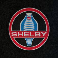 69 - 70 Mustang Trunk Mat, Shelby Word & Snake, Fstbk
