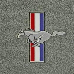 67 - 68 Mustang Fastback Trunk Mat, Pony & Bars