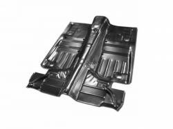Floor Pan - Complete - Scott Drake - 64 - 68 Mustang Coupe/Fastback Complete Floor Pan