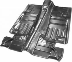 Floor Pan - Complete - Scott Drake - 64 - 68 Mustang Convertible Complete Floor Pan