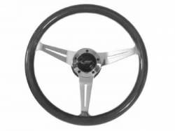 Steering Wheel & Related - Steering Wheels - Scott Drake - 65 - 73 Mustang Grant Mahogany Signature Steering Wheel