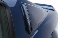 Body - Scoops - 3D Carbon - 05 - 09 Mustang Upper Window Scoops