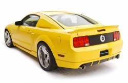 Spoilers - Rear - 3D Carbon - 05 - 09 Mustang Ducktail Spoiler, 3 Piece