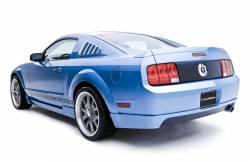 3D Carbon - 05 - 09 MUSTANG - V6 Rear Lower Skirt - Single Exhaust Port