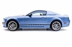 Body - Body Kits - 3D Carbon - 05 - 09 MUSTANG - V6 8 PC. KIT