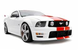Body - Body Kits - 3D Carbon - 05 - 09 MUSTANG - BOY RACER - 11 PC. KIT