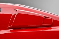 Body - Scoops - 3D Carbon - 10 - 14 MUSTANG -Window Scoop - Type III - (Pair)
