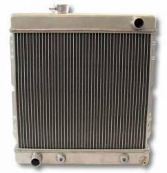 Radiators - 2 - Core - Scott Drake - 64 - 66 Mustang 6 Cylinder Aluminum Radiator