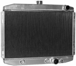 Radiators - 2 - Core - Scott Drake - 67 - 69 Mustang High Performance Aluminum Radiator