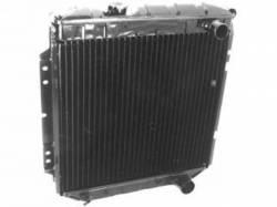 Radiators - 4 - Core - Scott Drake - 69 - 70 Mustang 4-Core Radiator (250,302,351 w/o Air)