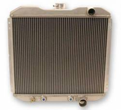 Radiators - 2 - Core - Scott Drake - 67 - 69 Mustang Aluminum Radiator, Small Block