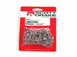 Door Panels & Related - Hardware - Scott Drake - 65 - 67 Mustang Deluxe Door Panel Clip Set