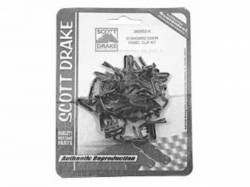 Door Panels & Related - Hardware - Scott Drake - 1964 - 1968 Mustang  Door Panel Clip Kit