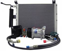 A/C & Heating - A/C Systems & Upgrades - Scott Drake - 1965 Mustang Under Hood AC Upgrade Package
