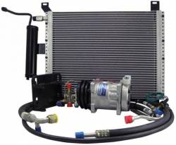 A/C & Heating - A/C Systems & Upgrades - Scott Drake - 1966 Mustang Under Hood AC Performance Kit