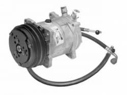 A/C & Heating - A/C Compressors - Scott Drake - 1967 Mustang  Sanden Compressor Conversion Kit (289, R134a)