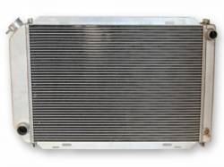 Radiators - 2 - Core - Scott Drake - 81-93 Mustang Aluminum 2 Row 5spd Radiator