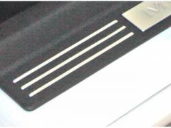 Carpet & Related - Sill Plates - Drake Muscle Cars - 2005- 09 Mustang Sill Plate Accent Strips