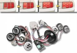 Electrical & Lighting - Tail Lights - Drake Muscle Cars - 05 - 09 Mustang Sequential Rear Tail Light Kit
