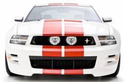 Headlight - Trim - 3D Carbon - 10 - 14 MUSTANG - GT Headlight Splitters (Pair)