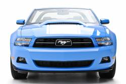 Headlight - Trim - 3D Carbon - 10 - 14 MUSTANG - V6 Headlight Splitters (Pair)