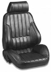 Seats & Components - Aftermarket Seats - Procar - 71 - 73 Mustang Procar Rally Seats, Black Vinyl