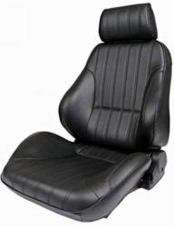 Procar - 65 - 70 Mustang Procar Rally Seats, Black Leather