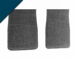 Carpet & Related - Floor Mat Sets - Scott Drake - 1964 - 1973 Mustang Carpet Floor Mats (Dark Blue)